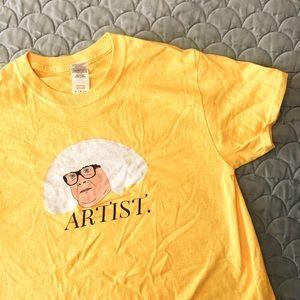 Tops - it's always sunny frank artist shirt